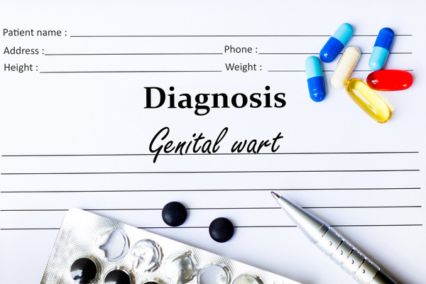 diagnosis of genital warts