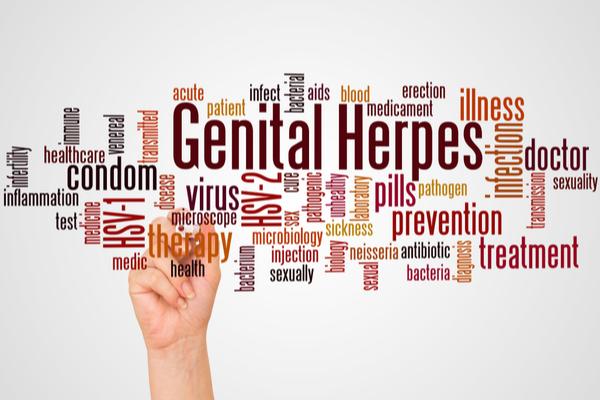 genital herpes prevention
