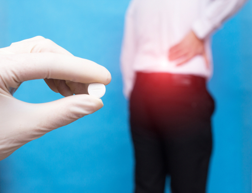 Opioid pain relievers and muscle relaxants