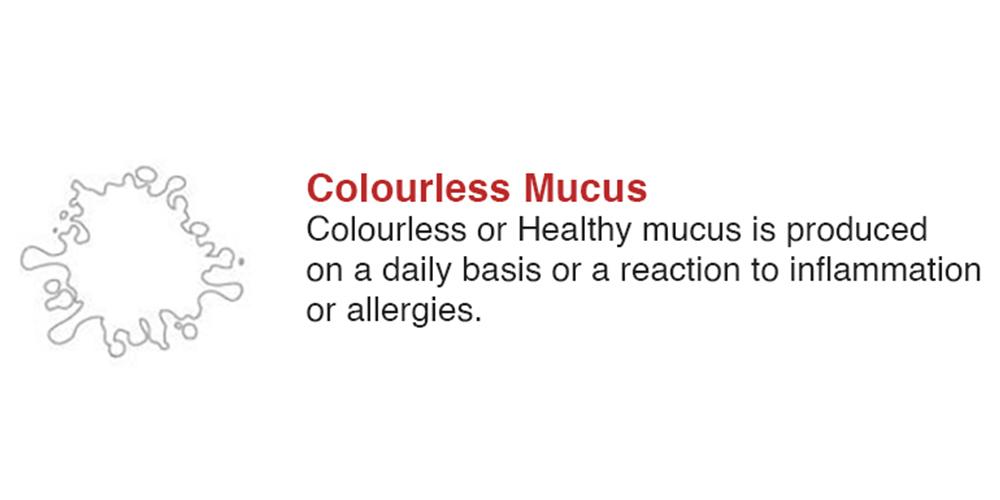 Colourless Mucus