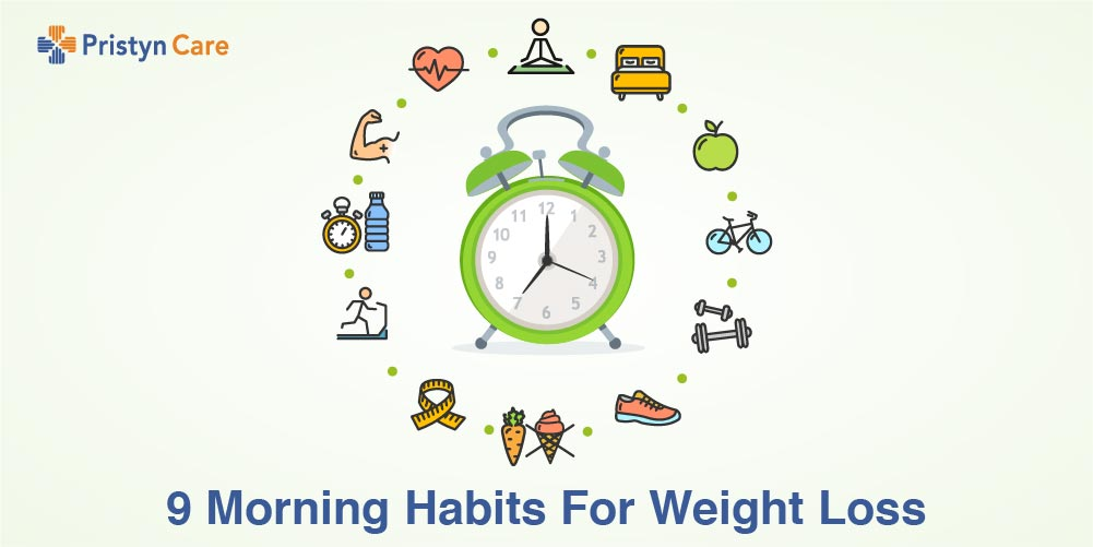 9 Morning Habits For Weight Loss