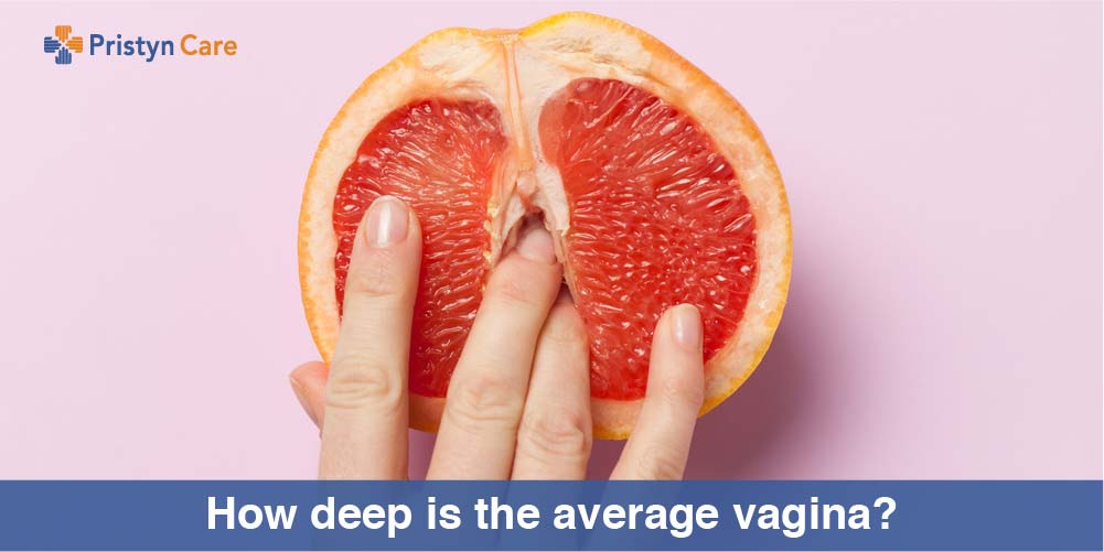 How deep is the average vagina?