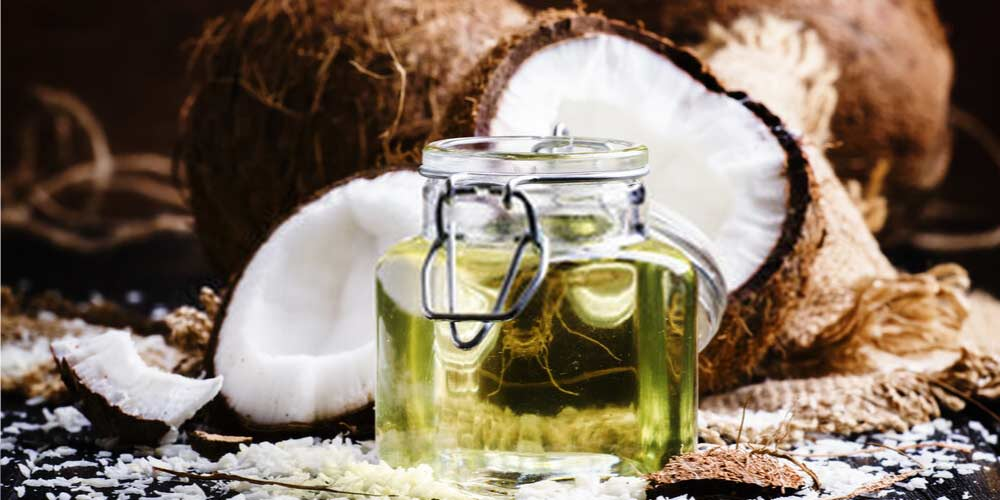 Coconut oil-Essential-Oils-To-Treat-Ear-Pain