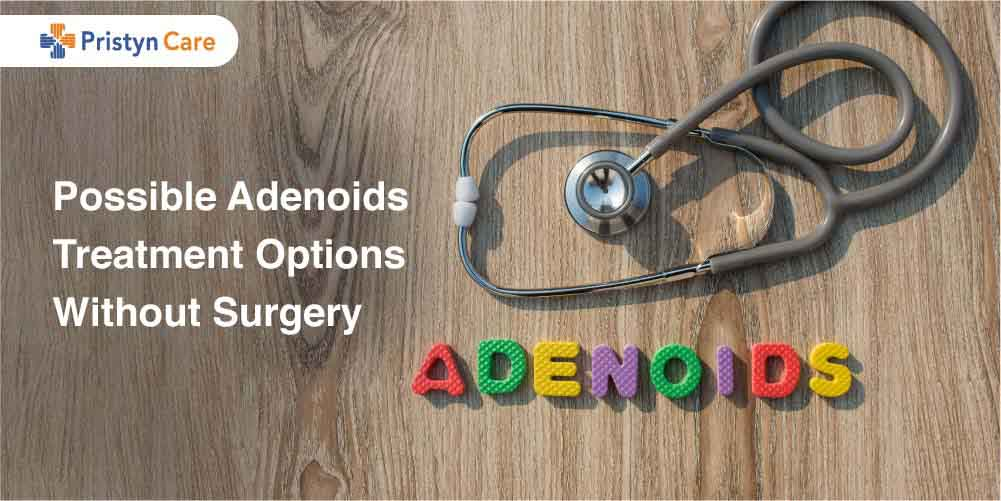 Cover image for adenoid treatment without surgery