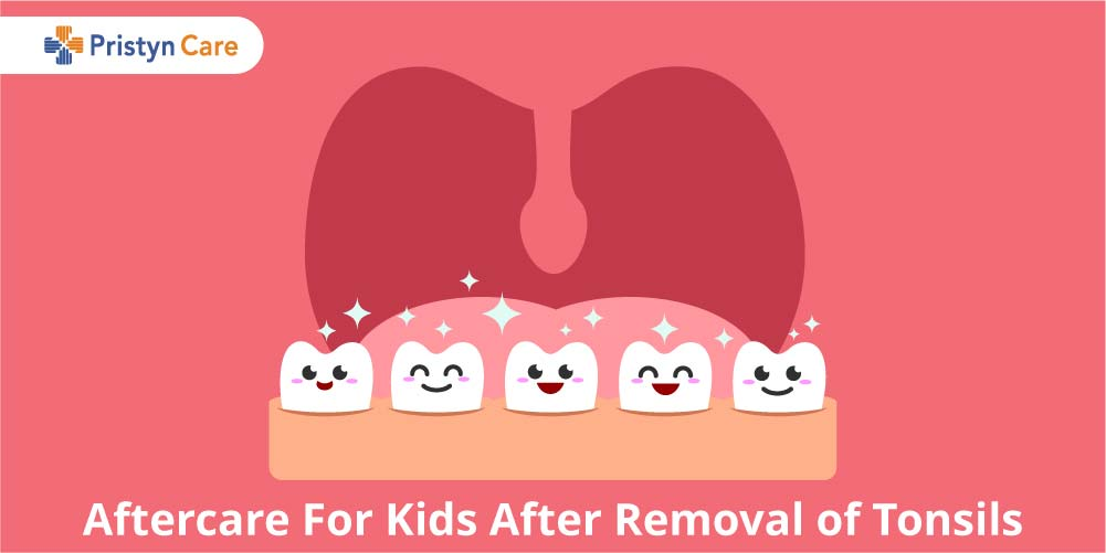 Cover image for aftercare of removal of tonsils