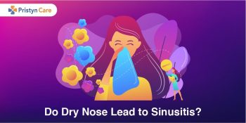 Cover image for do dry nose lead to sinusitis