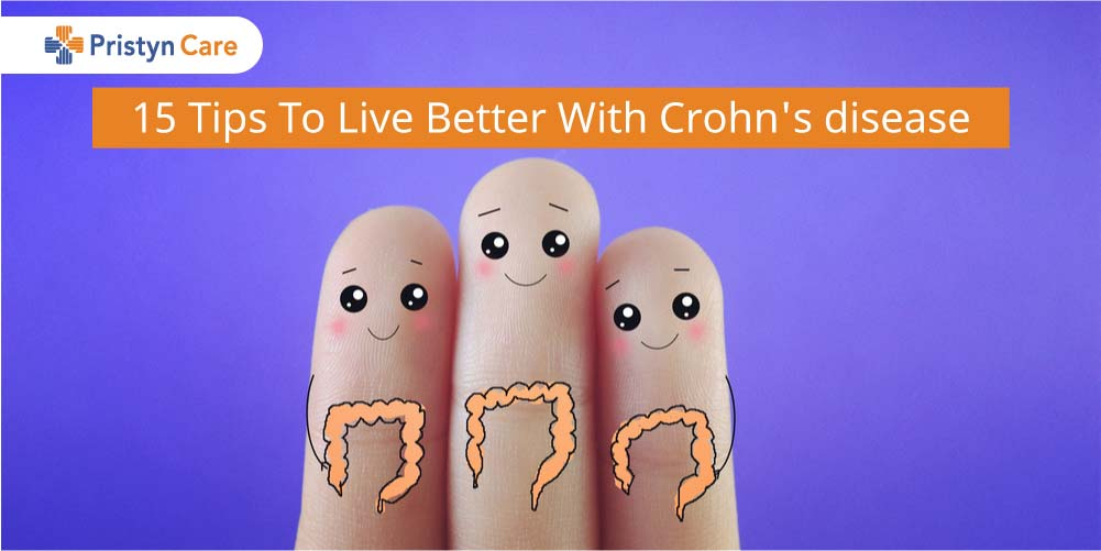 Cover image for tips to live with crohn's disease