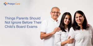 Cover image fow how to take care of child during board exams