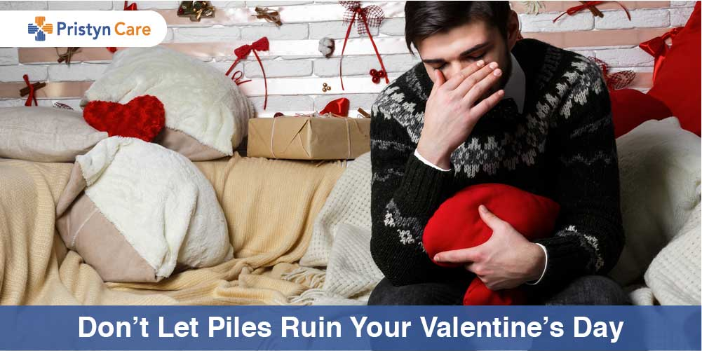 Do not let piles ruin your Valentine