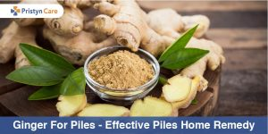 Ginger for piles