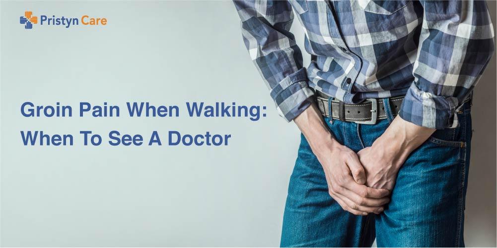 Groin Pain when walking