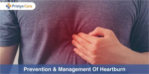Management and prevention of heartburn