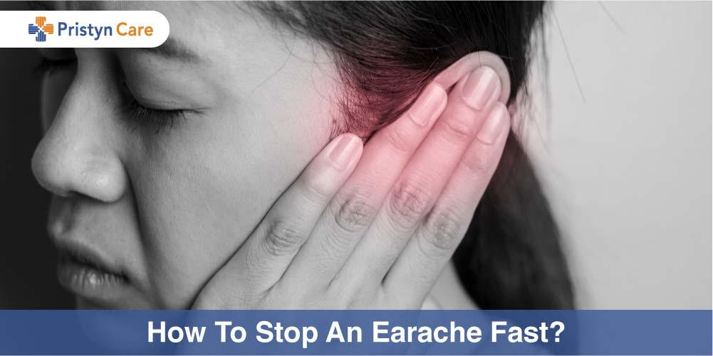 Stop Earache fast