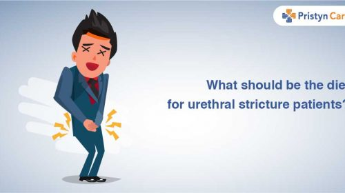 What should be the diet for urethral stricture patient