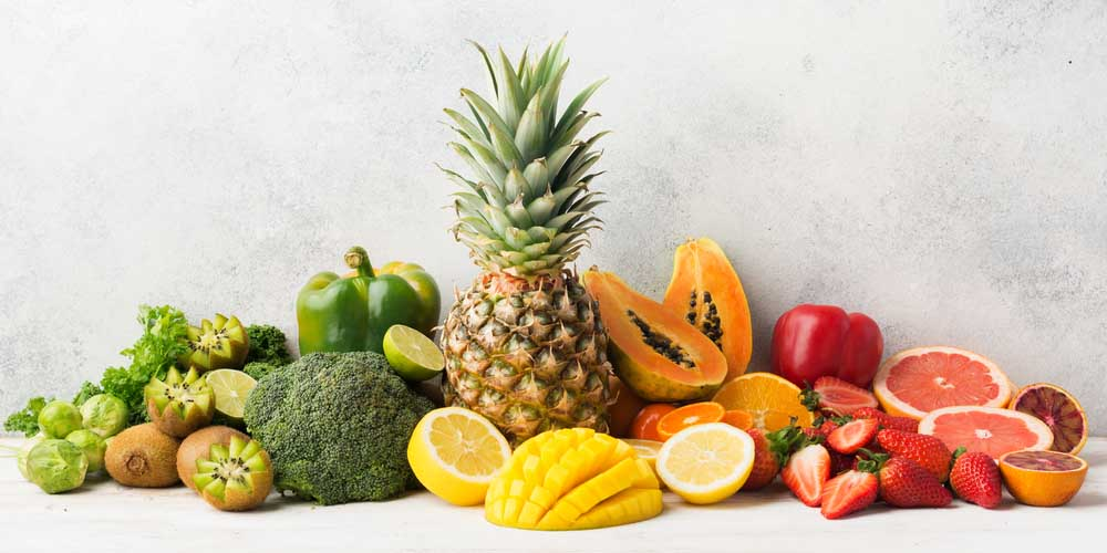 fruits with vitamin c and antioxidants