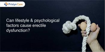 lifestyle and psychological factors for erectile dysfunction