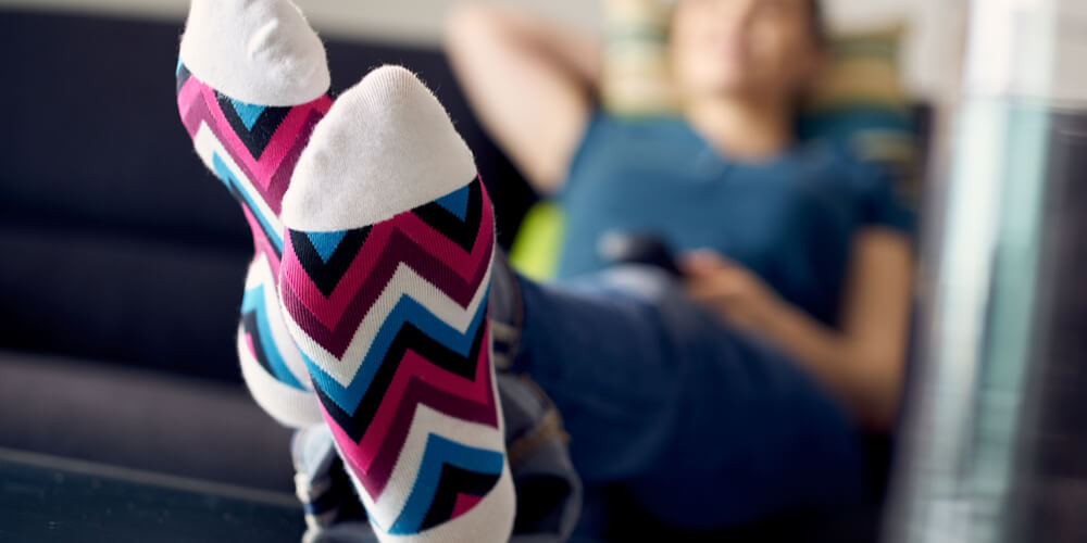 Elevating legs for Varicose veins