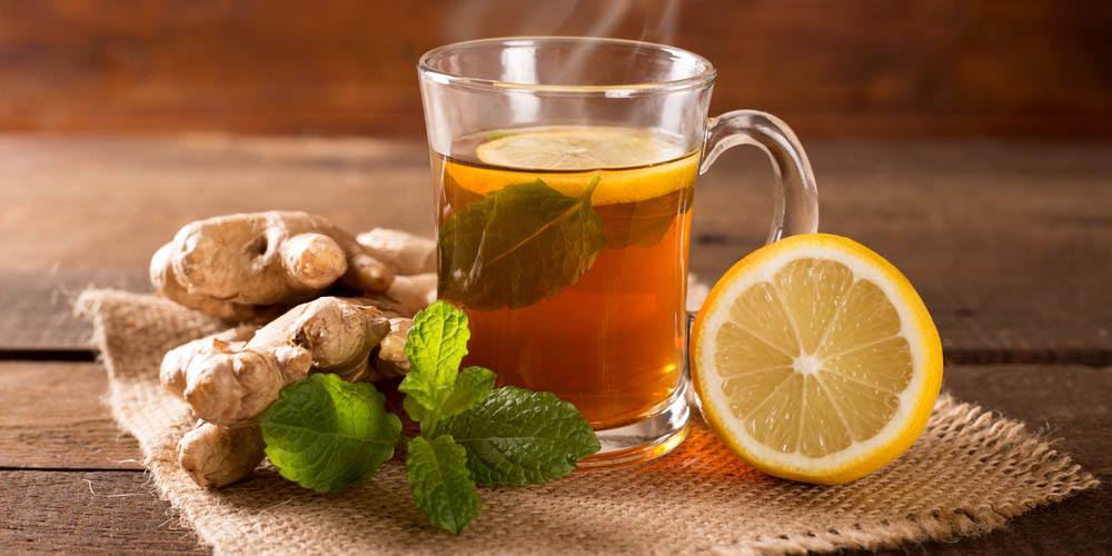 lemon-tea-on-a-table- healthy morning habit for weight loss