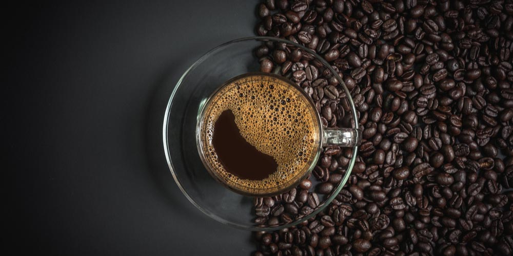 Black Coffee- healthy morning habit for weight loss