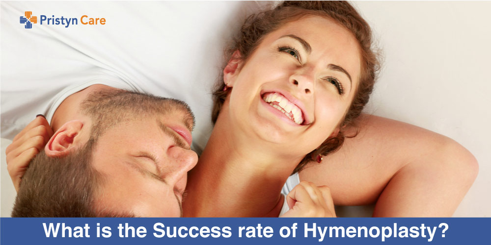 What is the Success rate of Hymenoplasty?