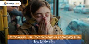 Coronavirus, Flu, Common cold or something else- How to identify?