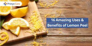 Amazing benefits of lemon peel