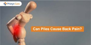 Can piles cause back pain?