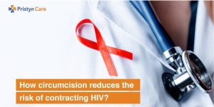How circumcision reduce the chances of contracting HIV