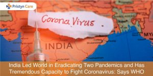 India led the world in eradicating two pandemics