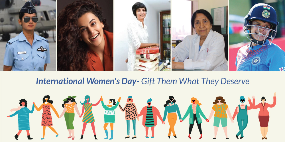 International Womens Day - Gift Them What They Deserve