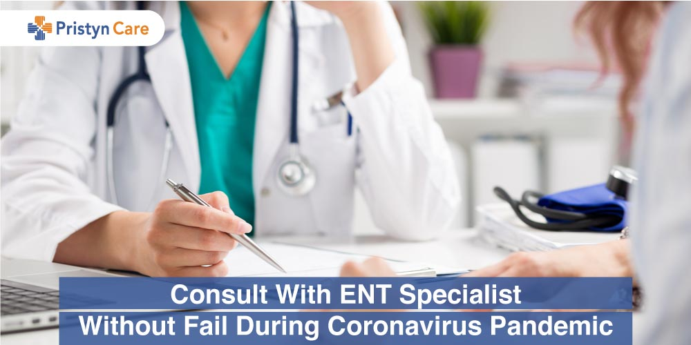 Online Consultation with ENT doctor