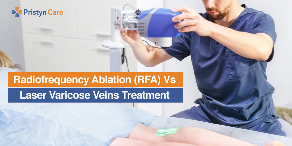 Radiofrequency ablation Vs laser treatment