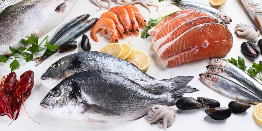 Fish and sea foods