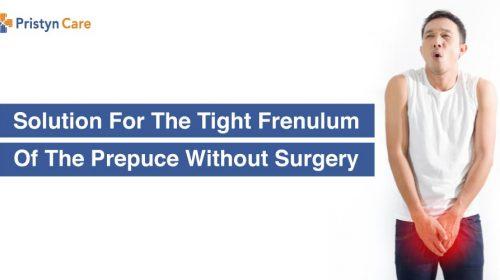 tight frenulum solution
