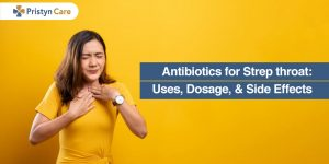 Antibiotics for strep throat