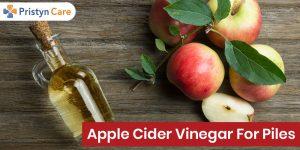 Apple Cider Vinegar for piles