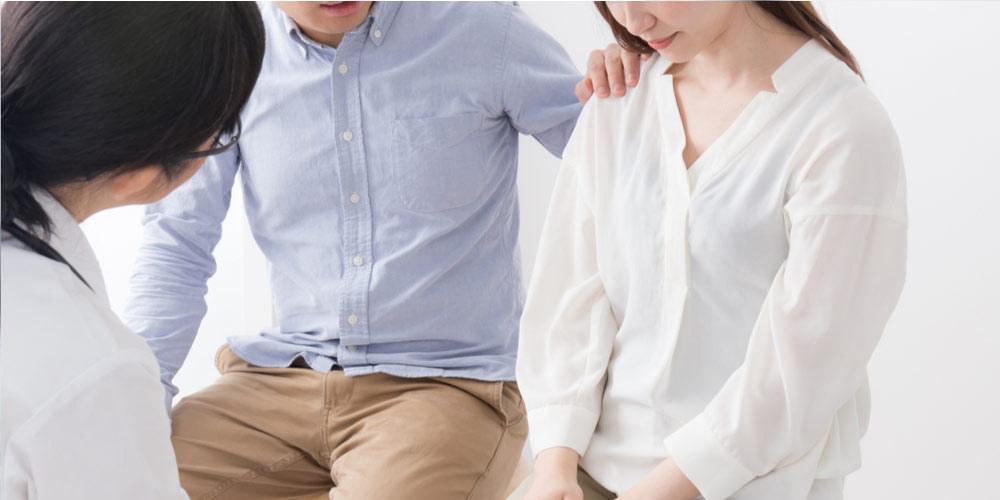 Sad female stressed as she may be having female infertility
