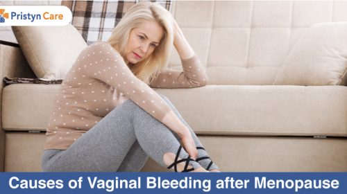 Causes of vaginal bleeding after menopause