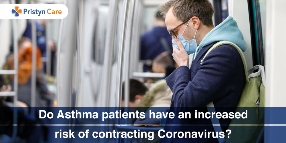 Do Asthma patients have an increased risk of contracting Coronavirus?