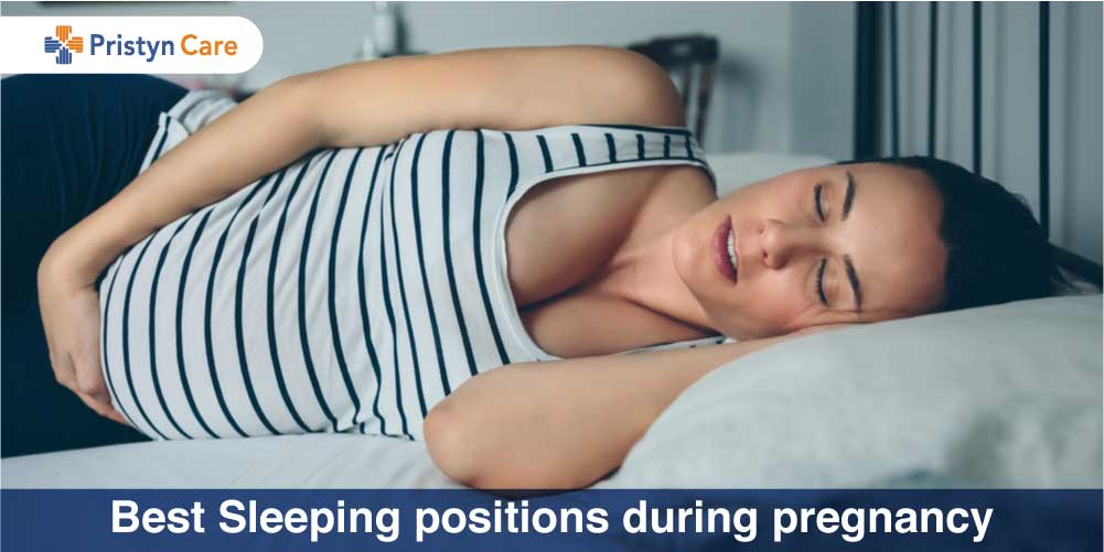 Best Sleeping positions during pregnancy
