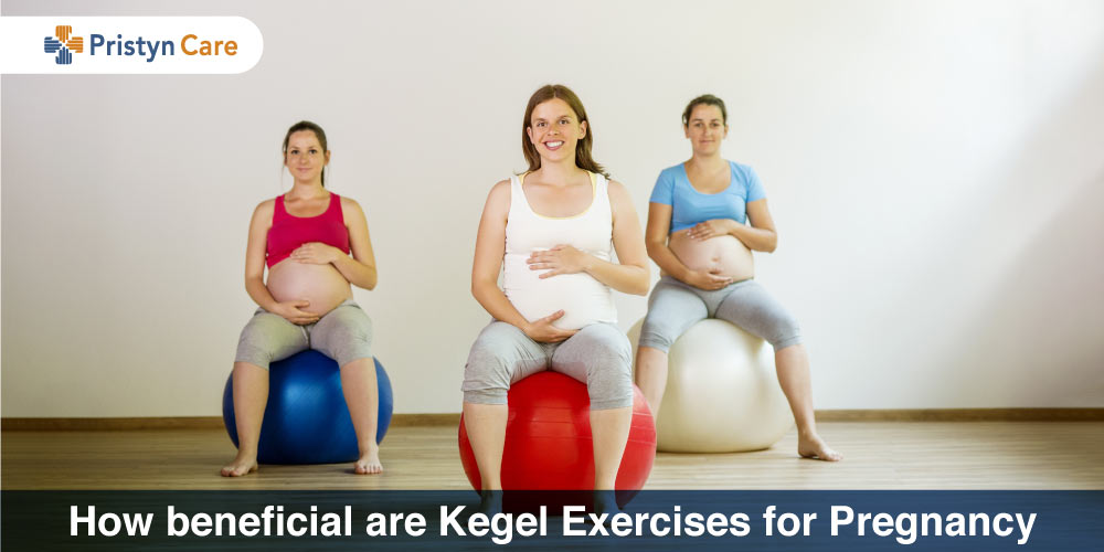 females doing Kegel exercises in pregnancy