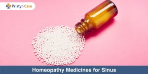 Homeopathy medicine for sinus