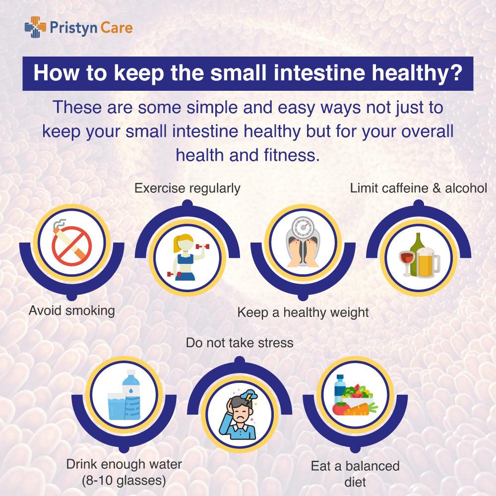 Ways to keep small intestine healthy