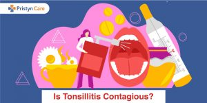 Is tonsillitis contagious