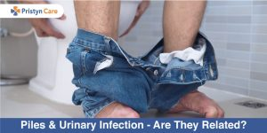 Piles and urine infection - how are they related?