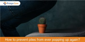 Prevent piles from popping up again