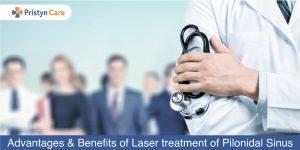 benefits of laser treatment of pilonidal sinus