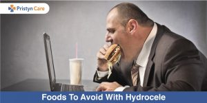 foods to avoid with hydrocele