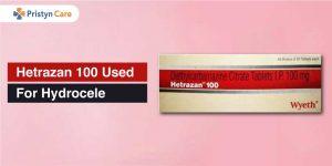 hetrazan 100 for hydrocele