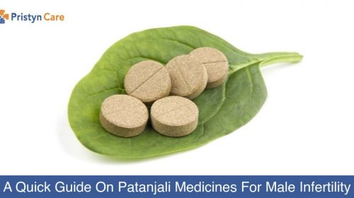 patanjali medicines for male infertility